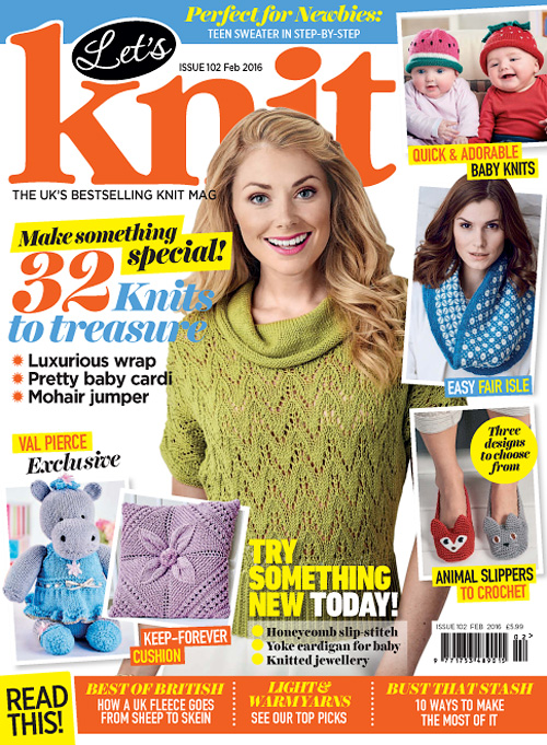Let's Knit - February 2016