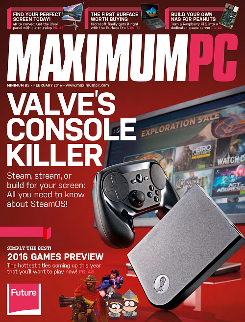 Maximum PC - February 2016
