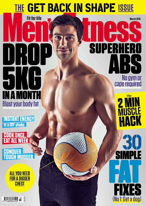 Men's Fitness UK - March 2016