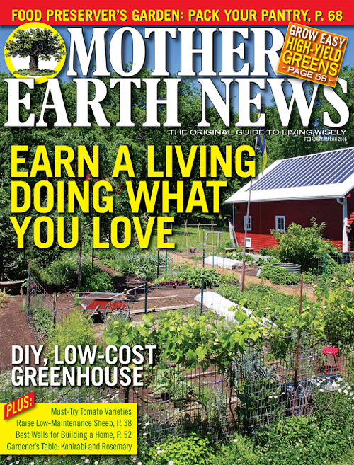 Mother Earth News - February/March 2016
