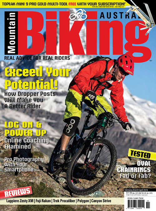 Mountain Biking Australia - February/March/April 2016