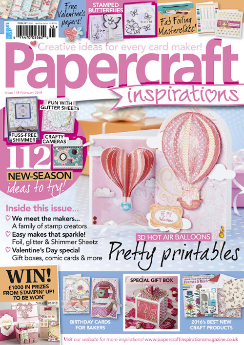PaperCraft Inspirations - February 2016