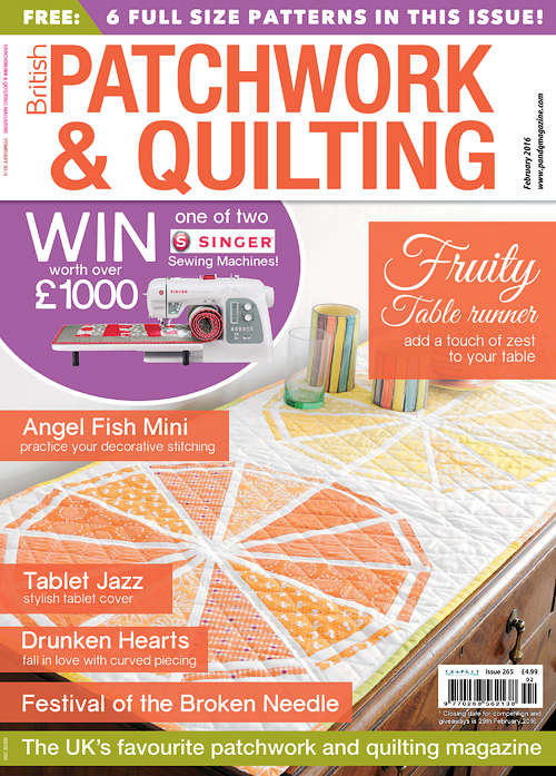 Patchwork & Quilting - February 2016