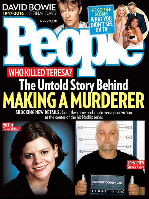 People USA - 25 January 2016