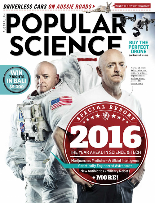 Popular Science Australia - January 2016