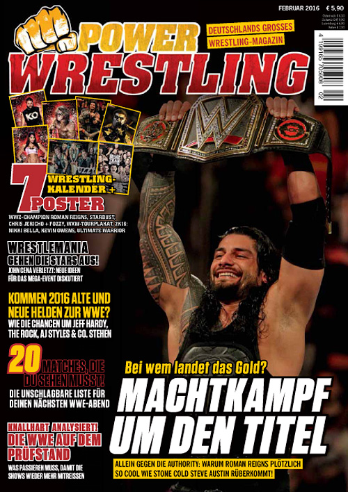 Power Wrestling - Februar 2016