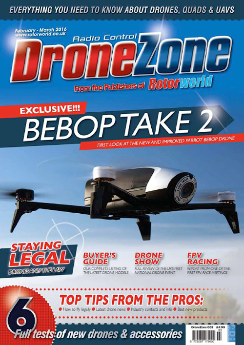 Radio Control Drone Zone - February/March 2016