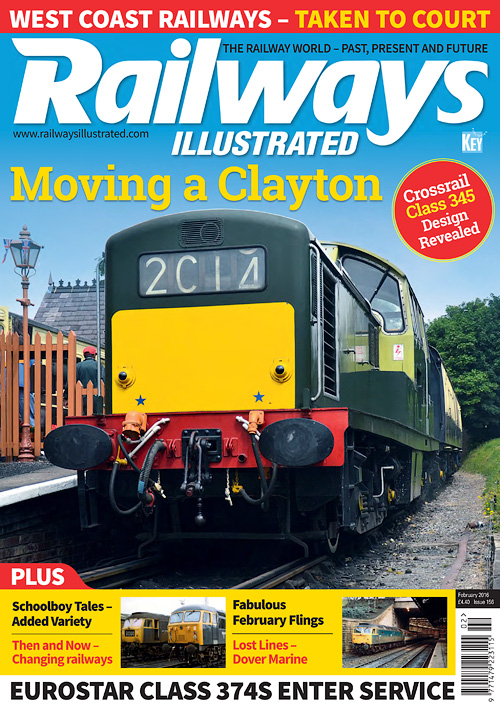 Railways Illustrated - February 2016