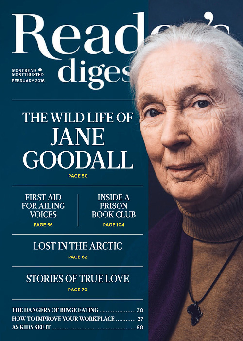 Reader's Digest Canada - February 2016