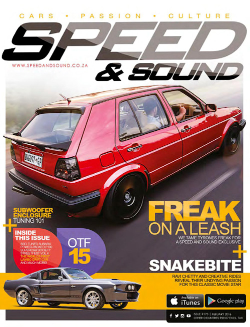 Speed & Sound SA - February 2016