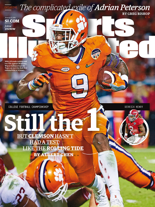 Sports Illustrated - 11 January 2016