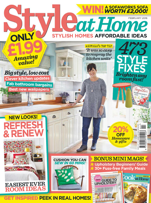 Style at Home UK - February 2016