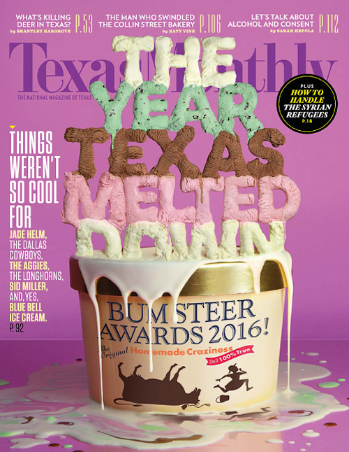 Texas Monthly - January 2016