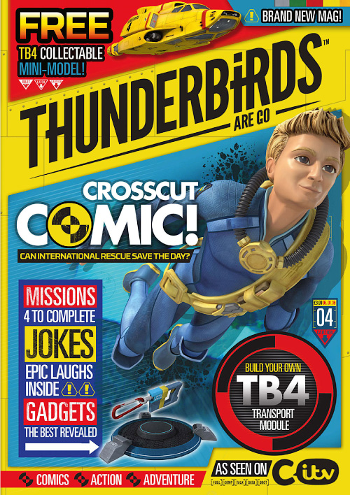 Thunderbirds Are Go - Issue 4, 2016