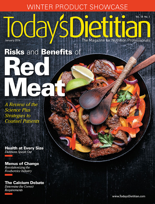 Today's Dietitian - January 2016