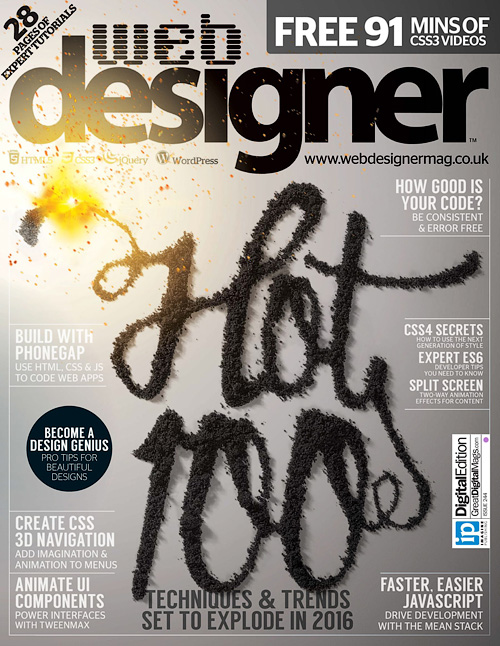 Web Designer UK - Issue 244, 2016