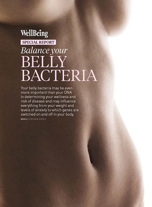 WellBeing Special Reports: Belly Bacteria 2015