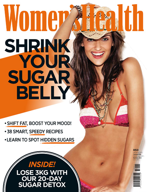 Women's Health South Africa - Shrink Your Sugar Belly 2015