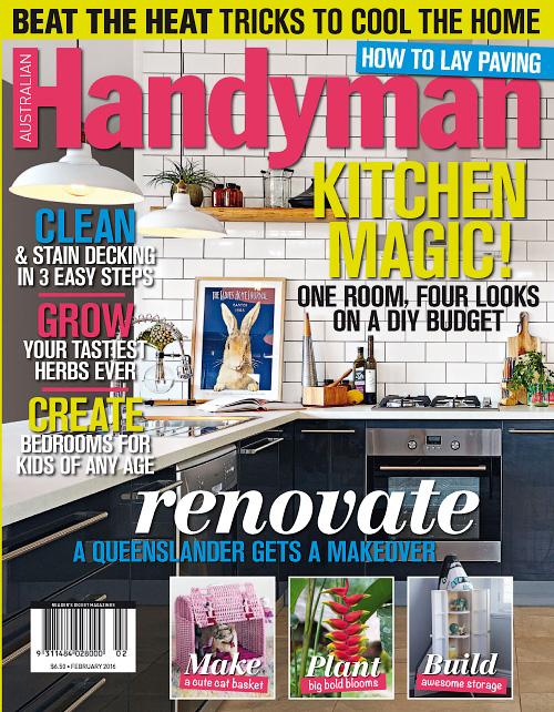 Australian Handyman February 2016 Free Pdf Magazines