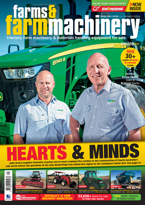 Farms & Farm Machinery - Issue 329, 2016