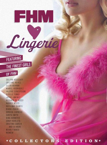 Girls of FHM Philippines: Lingerie Special 2013