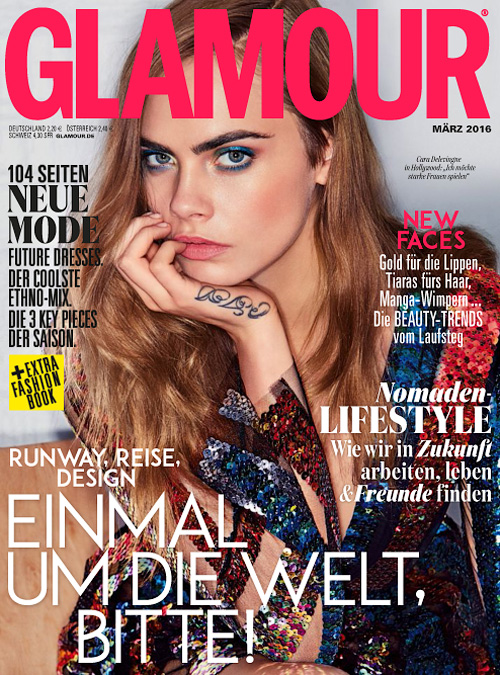 Glamour Germany - März 2016