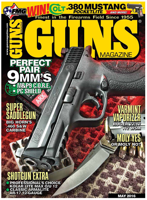 guns magazine may 2016