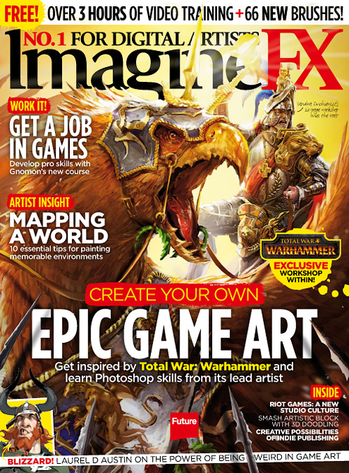ImagineFX - April 2016