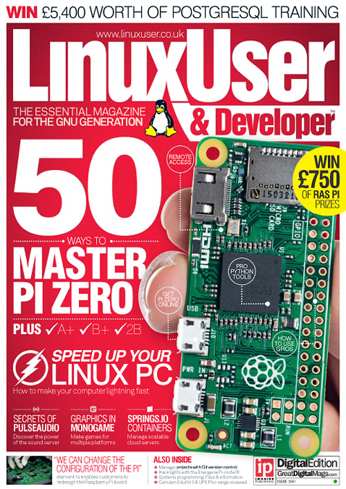 Linux User & Developer – Issue 160, 2015