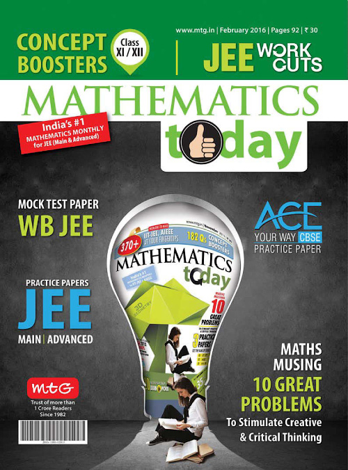 Mathematics Today - February 2016