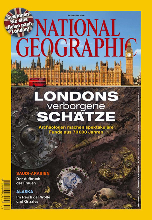 National Geographic Germany - Februar 2016