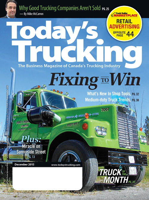 Today's Trucking - December 2015