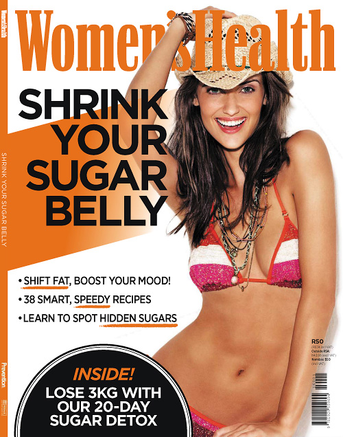 Women's Health Special Edition - Shrink Your Sugar Belly 2016