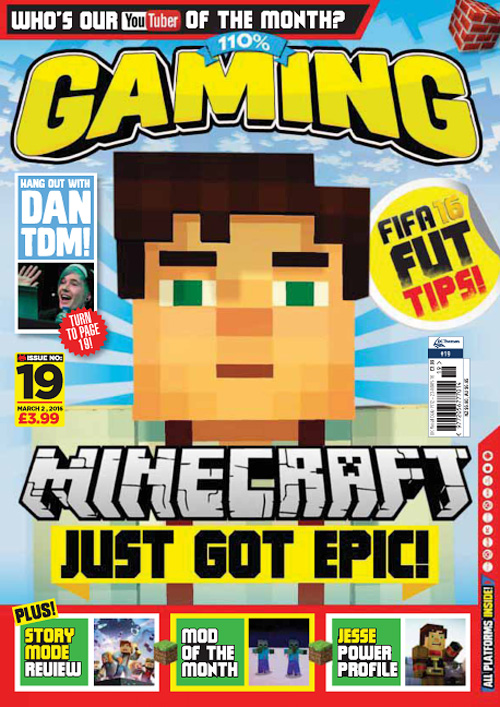 110% Gaming - Issue 19, 2016