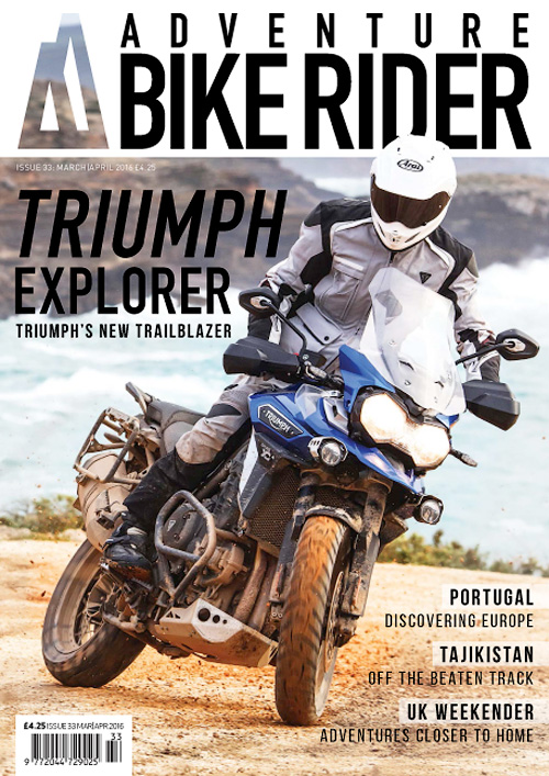 Adventure Bike Rider - March/April 2016