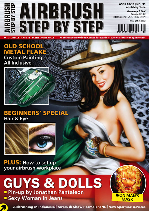 Airbrush Step By Step - April/June 2016