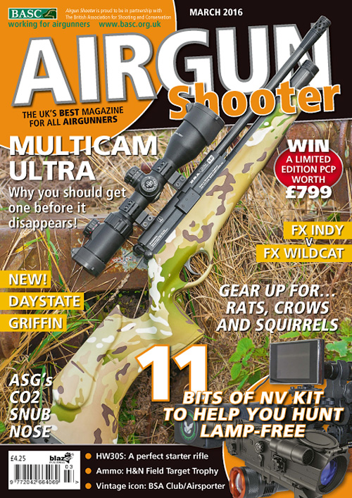 Airgun Shooter - March 2016