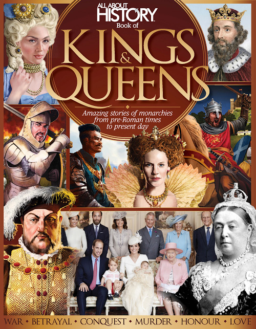 All About History - Book Of Kings And Queens 4th Edition
