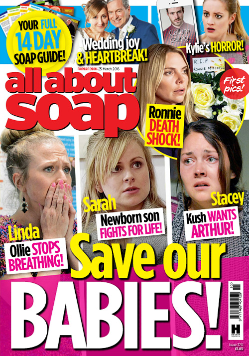 All About Soap UK - 25 March 2016