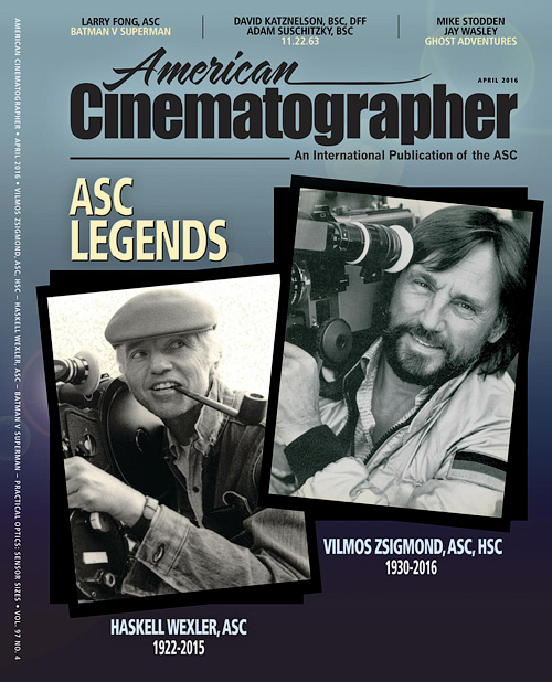 American Cinematographer - April 2016