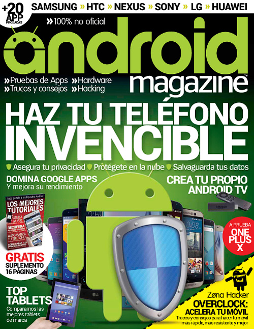 Android Magazine Spain - Issue 45, 2016