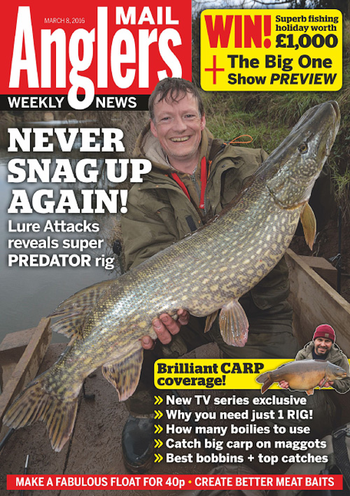 Angler's Mail - 8 March 2016