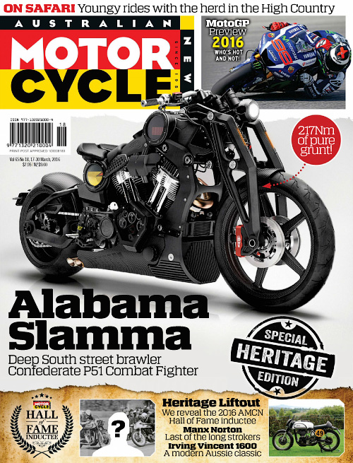 Australian Motorcycle News - 17 March 2016