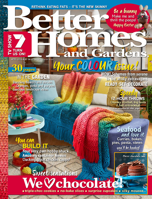 better homes and gardens australia april 2016 - Free Better Homes And Gardens Magazine