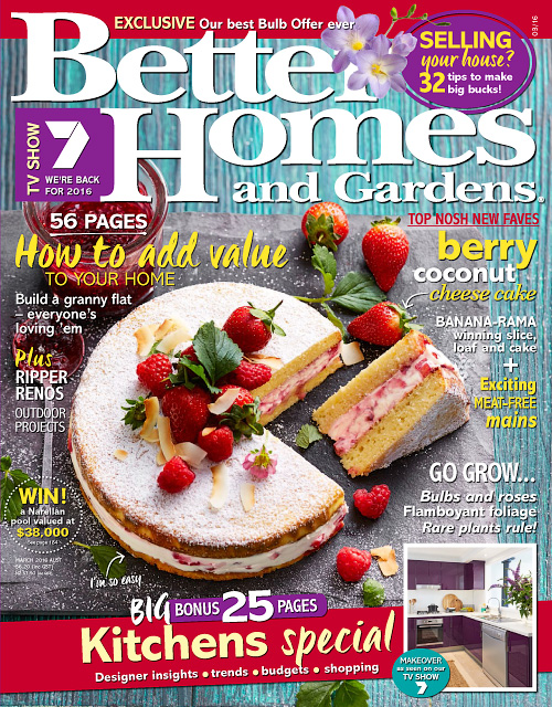 Better Homes And Gardens India - March 2016 » Free Pdf Magazines