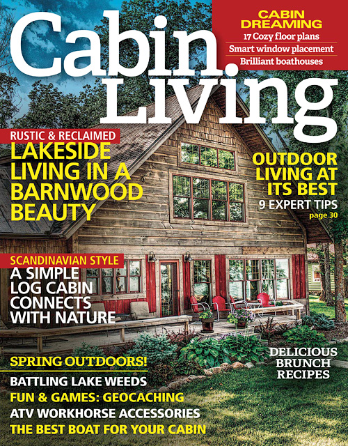 Cabin Living - April 2016