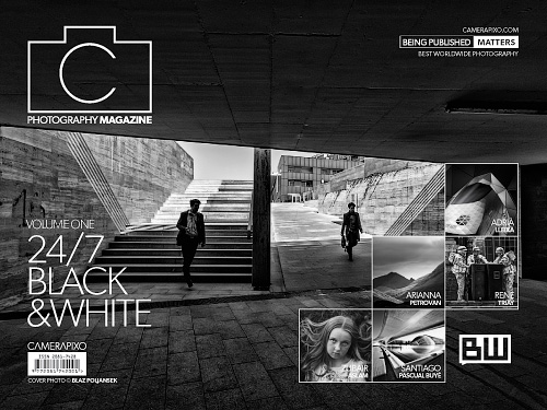 Camerapixo Black and White Photography Issue 3, Vol.1 2016