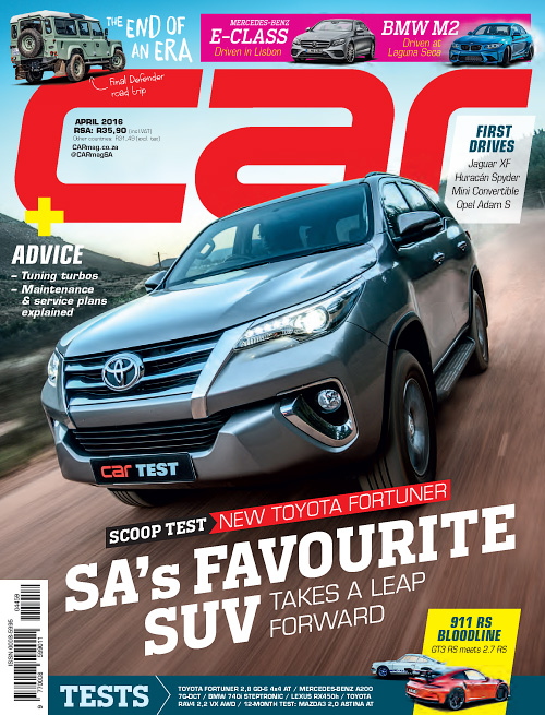 Car South Africa - April 2016