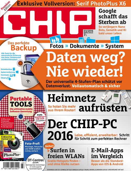 Chip Germany - März 2016
