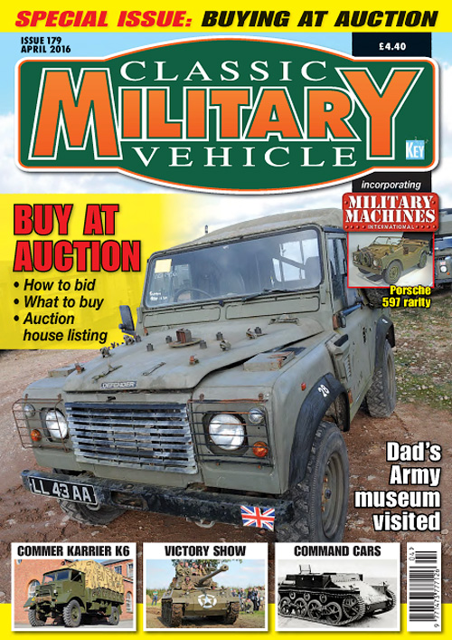 Classic Military Vehicle - April 2016